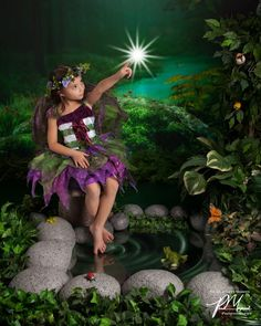 My daughter's fairy photo shoot. Every little girl should get to do this. Paul Maynard does wonderful work.