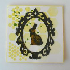 easter card Easter Card, Card Making, Anna, Iron, Crafty, Frame, Creative, Cards, Handmade