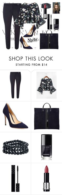 """""""shein"""" by girl-321 ❤ liked on Polyvore featuring Rika, Dorothy Perkins, Gianvito Rossi, 2028, Chanel, Gucci and MAKE UP FOR EVER"""