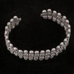 silver bangle from Karen hilltribe of Thailand | gleanings - Jewelry on ArtFire