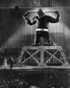King Kong (1933)  I remember going to see this movie with my Aunt Faye...such a great memory!