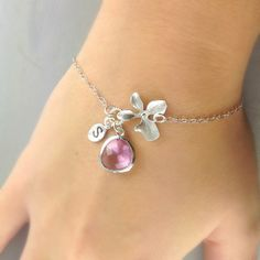 Personalized Bracelet Initial Bracelet by anatoliantaledesign, $28.00