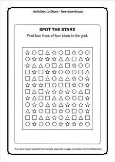 Spot the Stars Activity