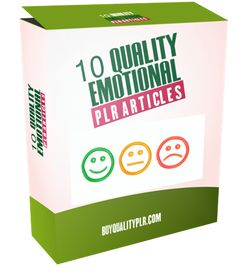 10 Quality Emotional PLR Articles - http://www.buyqualityplr.com/plr-store/10-quality-emotional-plr-articles/.  #Emotional #privatelabelrights #plrarticles #health #emotionalmarketing #articlepack 10 Quality Emotional PLR Articles In this PLR Content Pack You'll get 10 Quality Emotional Articles with Private Label Rights to help you dominate the Emotional market which is a highly profitable and in-demand....