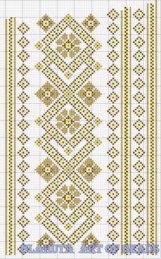 Reem's media content and analytics Cross Stitch Borders, Cross Stitch Designs, Cross Stitching, Cross Stitch Embroidery, Embroidery Patterns, Hand Embroidery, Cross Stitch Patterns, Loom Patterns, Crochet Patterns