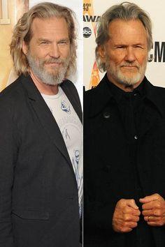 Jeff Bridges and Kris Kristofferson