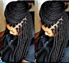 Senegalese twist #Naturalhair #Naturealcurl #curlbox #curls #curlyfro #curlygirl #curlyhair #teamnatural_