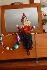 elf on the shelf ideas - jewelry box