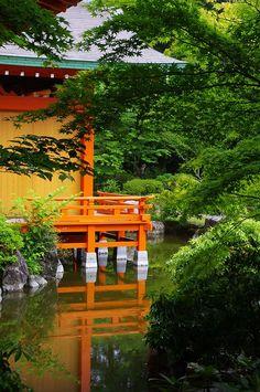 """iseo58: """"Heikenosato Noh Stage at Yatsushiro, Kumamoto, Japan """""""