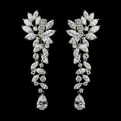 Bridal Jewelry Glamorous Cubic Zirconia Wedding and Special Occasion Earrings - Clip On or Pierced - Affordable Elegance Bridal - - Glamorous Cubic Zirconia Wedding Earrings in Clip On or Pierced styles. Bar Stud Earrings, Crystal Earrings, Crystal Jewelry, Clip On Earrings, Sterling Silver Jewelry, Diamond Earrings, Diamond Stud, Diamond Pendant, 925 Silver