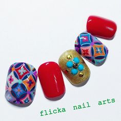 #nailart by @flickanail on instagram