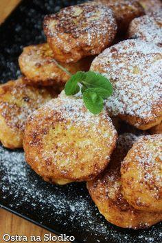 SEROWE MINI RACUSZKI Waffles, Pancakes, Sweet Recipes, Healthy Recipes, Tasty, Yummy Food, Pretzel Bites, I Love Food, Baked Potato