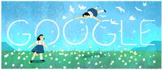 anniversary of the birth of Misuzu Kaneko Doodle 4 Google, Google Doodles, Google Banner, Holiday Logo, Birthday Dates, Today In History, Magazines For Kids, Doodle Sketch, Children's Literature