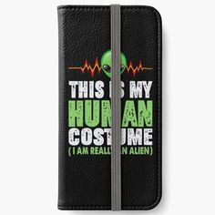 Alien iPhone, iPad and Samsung cases and skins! Iphone Wallet, Iphone 6, Iphone Cases, Open Book, 6s Plus, Samsung Cases, Adhesive, Ipad, Iphone Case