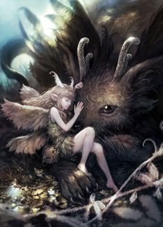 Digital Art by Seunghee Lee – Fairy in the Forest