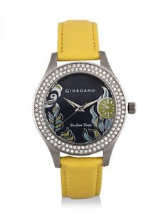 GIORDANO Analogue Watch With Embossed Design only at koovs.com