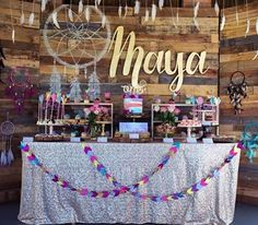 Swooning over this stunning boho 1stbirthday for Maya