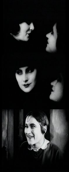 """Do you need some money?"" Valeska Gert as Frau Greifer questions Greta Garbo. The Joyless Street. 1925. Directed by G. W. Pabst."
