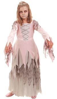 zombie princess costume for girls | Girls Zombie Prom Queen 2013 ...