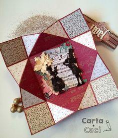 Carta e Cuci: Un Biglietto per Natale - A Christmas Card (Tutorial)