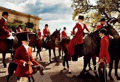 Mario Testino for Vanity Fair: Angel On Horseback