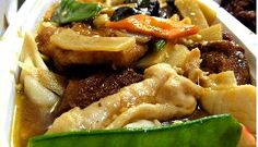 Pork-Tofu Casserole - Tofu takes on the taste of whatever seasonings are added to it, and is also a healthy food. If you love Tofu as I do, you'll enjoy this delicious recipe.  Get this recipe by clicking on the link below: http://ow.ly/yx1o301pnmT