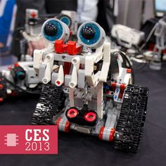 The cutest darndest robot at CES. — Lego Mindstorms EV3 Preps Kid Programmers For The Mobile World