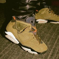"separation shoes 6e731 fe815 Sneaker News on Instagram  "" travisscott to debut his Air Jordan 6 during  the"