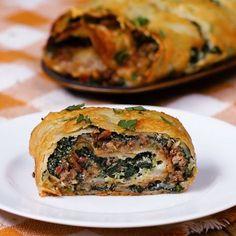 Scalloped Potato Roll, that I will make vegan .