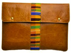 Kushn your Laptop! If you're purchasing a brand new macbook or PC laptop this holiday season, why not consider wrapping it up in a laptop sleeve from Kushn? Made with genuine South African leather and hand-woven Kente cloth from Ghana, you'd also be supporting individual craftsmen and local weavers. We're currently running a promotion on products in our online shop. Simply use the coupon code HOLIDAY2012 at checkout for a 10% saving on everything in store! www.kushn.etsy.com