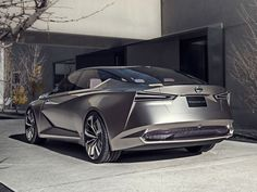 Meet The Nissan Vmotion 2.0 Concept: Nissan's Vision Of A Driverless Sedan