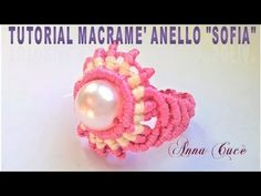 "Tutorial macramè anello ""Sofia""/ Tutorial macramé ring ""Sofia""/Diy tutorial - YouTube"