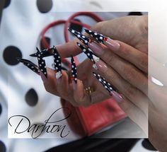 Dots-dots-dots by Darhon - Nail Art Gallery nailartgallery.nailsmag.com by Nails Magazine www.nailsmag.com #nailart