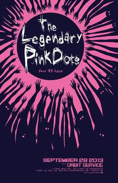 The Legendary Pink Dots - Tickets - U Street Music Hall - Washington, DC - September 28th, 2013