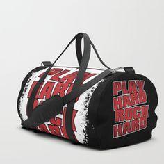 Play Hard Rock Hard Duffle Bag