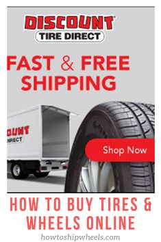 Discount Tire Direct is the easiest and best place to buy tires online for your vehicle.  Fast and free shipping for any car, truck, suv, cuv, & trailer.  Just put in your year, make and model and you are more than halfway there.  The widest selection of wheels/tires for your vehicle online out of any place, anywhere, anytime.  #discounttire #discounttiredirect #tiredirect Buy Tires, Tires For Sale, Tires Online, Discount Tires, Tired, Vehicle, Wheels, Trucks, Free Shipping