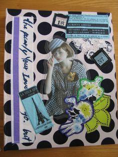 Disse Deux Collage Quilt Patchwork Sewing