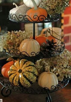 Fall is my favorite time of year – pumpkin everything, cool weather, autumn foliage, and fun Fall activities. So, obviously, I LOVE decorating for Fall. It's a chance to be creative and have fun. I've learned how to decorate for fall without spending much money and I want to share my money saving fall decor ideas with you.   If you want to have great fall/ halloween decor and save money, make your own decor. It's not as hard or as time-consuming as you think it would be. In fact, most of…