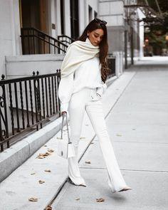 Jersey High Waist Pants - Fall Outfit Idea by Janice Joostema