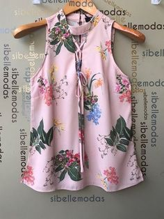 BLUSA CREPE FLORAL ESTAMPA EXCLUSIVA