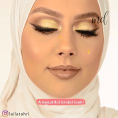 Looking absolutely gorgeous on your wedding day is a must! This tutorial shows you just how! By: day videos BRIDAL MAKEUP LOOK Bridal Makeup Looks, Pretty Makeup, Bolo Blaze, Eyeshadow Guide, Pakistani Party Wear Dresses, Estilo Tomboy, Thin Eyeliner, Everyday Make Up, Simple Eye Makeup
