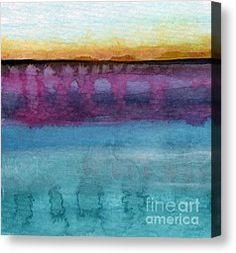 Wave Canvas Prints - Reflection Canvas Print by Linda Woods
