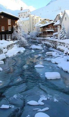 bluepueblo: Winters Morning, Andermatt, Switzerland photo via thingssheloves Andermatt, Great Places, Places To See, Amazing Places, Beautiful World, Beautiful Places, Beautiful Pictures, Grindelwald, Stations De Ski