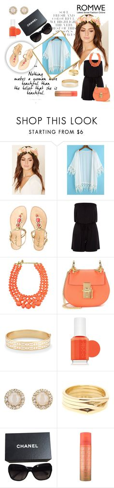 """""""109 - How to style a summer cardigan"""" by londonxx ❤ liked on Polyvore featuring Folio, Forever 21, Lilly Pulitzer, New Look, Chloé, Stella & Dot, Essie, Kate Spade, Repossi and Chanel"""