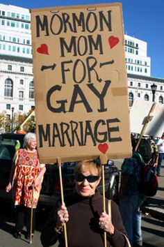 bullshit.  Either you're Mormon, or you're for Gay Marriage.  You can't have it both ways.