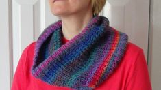 Learn to knit this gorgeous cowl with Lion Brand Amazing and this how-to video by Gilly's Craft World! Perfect for beginners - get our free pattern and watch the video and you'll be knitting in no time! :D