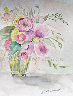 Watercolor by Jennifer Beaudet