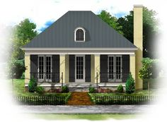 Tiny Cottage House Plans | BSA Home Plans: Simplicity Collection