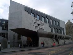 Scottish Parliament Building, Edinburgh,