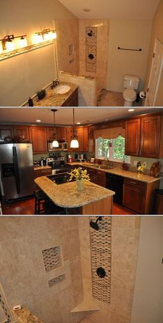 This company offers bathroom and kitchen remodeling, granite and quartz countertops installation, and tile and hardwood flooring. They also do custom tile backsplashes, custom granite work and more.